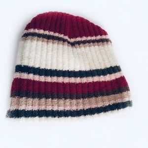 NWOT Maurices Striped Beanie